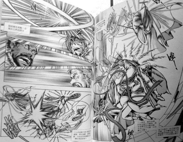 More swordfighting