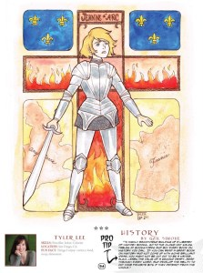 Womanthology - Joan D'Arc