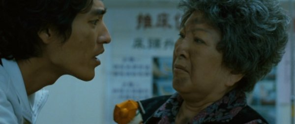 Ah Hua and his grandmother