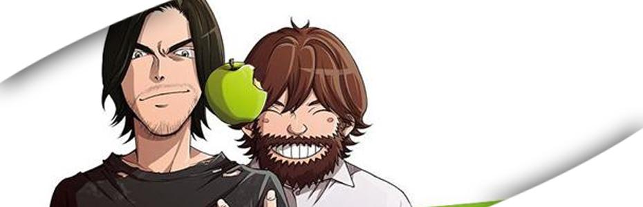 Steve Job encuentra un lugar en el Manga