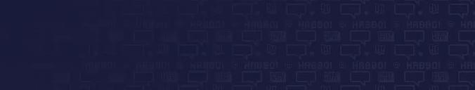 Les photos d'Habbo sur l'écran de connexion