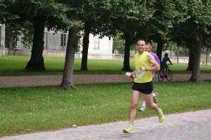 Tapis au Go Sport Running Tour du Chateau de Versailles