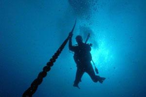 padi deep diver course subic bay