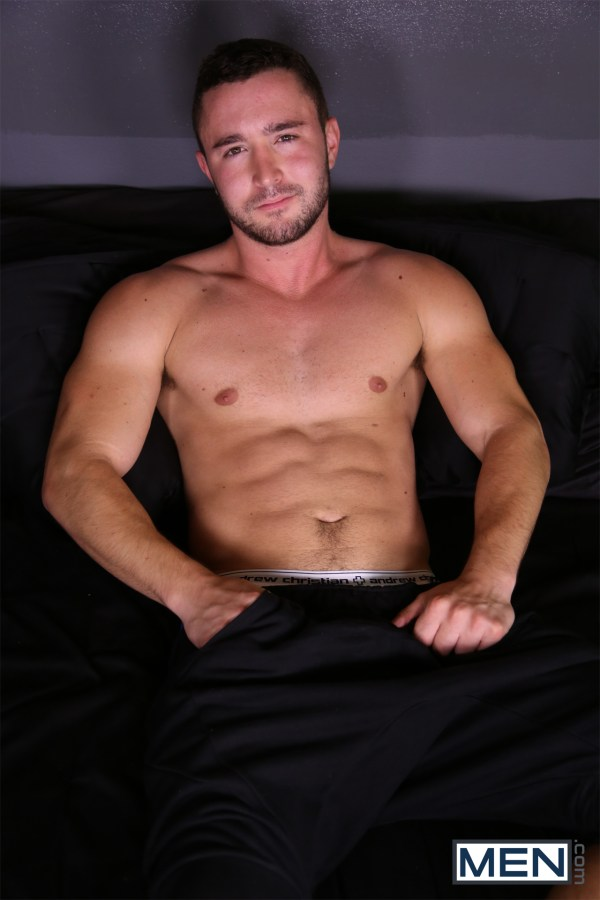 Colt Rivers bottoms for Dale Cooper in Lust Fuck by gay porn site Gods of Men.