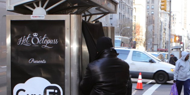 New York Gets Its First Jack Off Booth
