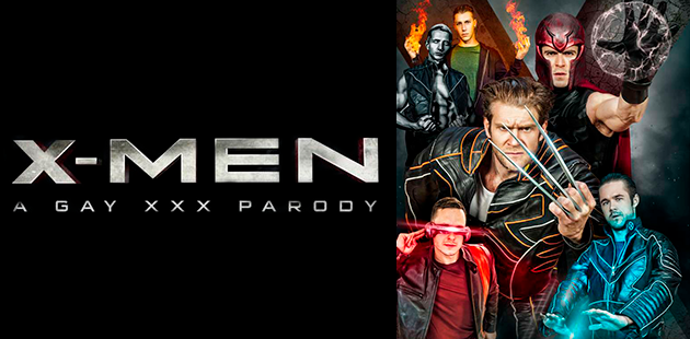 X-Men parodia porno gay ¡Ha iniciado!