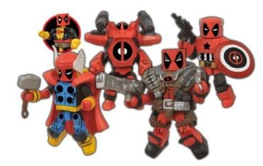 Diamond Select Deadpool SDCC Minimates