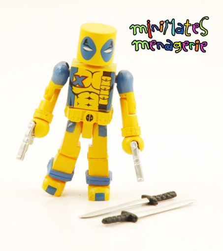 Diamond Select Deadpool SDCC Yellow Minimates