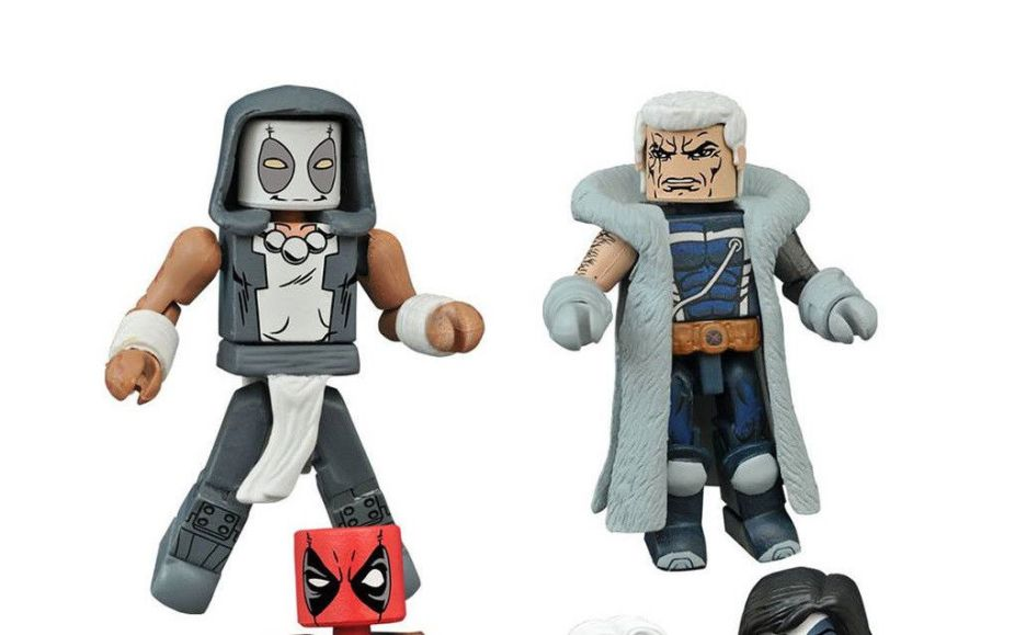 Diamond Select Deadpool Zenpool Minimates