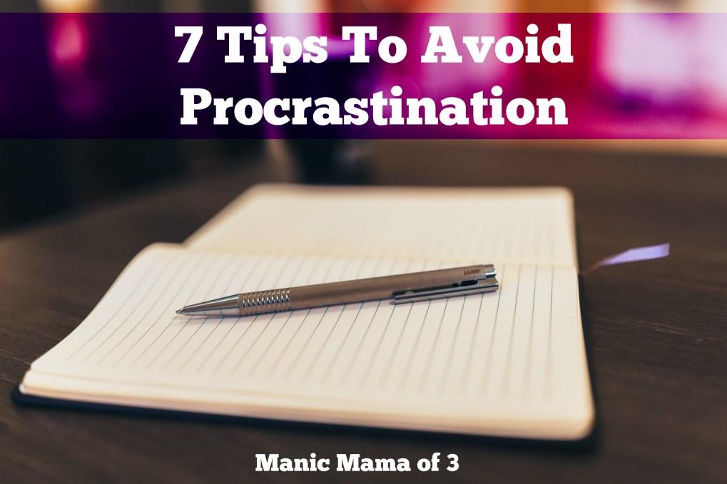 7TipsProcrastination