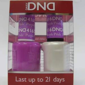 DND Gel Polish / Nail Lacquer Duo - 416 Purple Pride