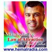 Hemal Radia Law of Attraction Podcast pic