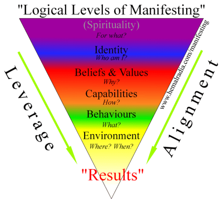 Law of Attraction & NLP - Logical Levels of Manifesting with Hemal Radia