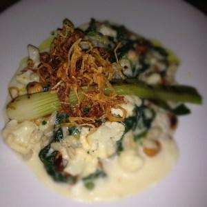 """""""Pearl Barley & Cauliflower Risotto at The Empress, Hackney"""""""