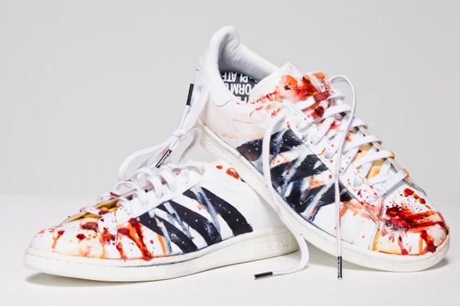 Layla Lyons adidas Stan Smith trainers