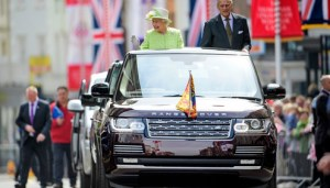 Queen's 90th Birthday Celebrations: On Board Camera Captures Unique Vantage Point of Queen's Birthday Drive Through Windsor