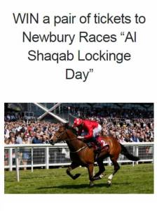 Win Tickets to Newbury Giveaway