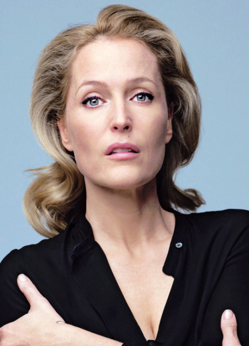 Gillian Anderson, Make-Up By Alice Theobald (Joy Goodman)