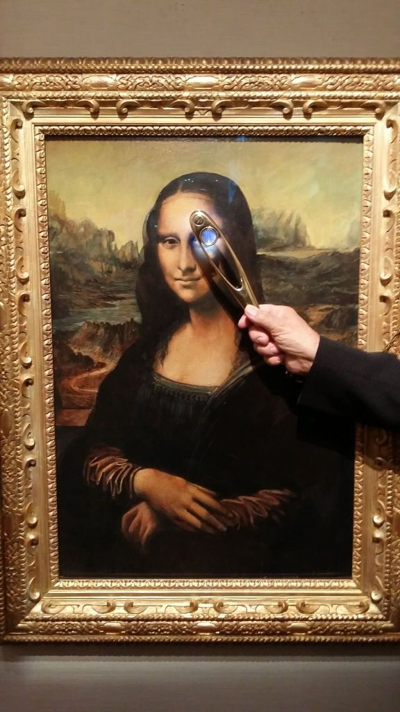 Mona Lisa Alan Greenhalgh Man In London Very First To
