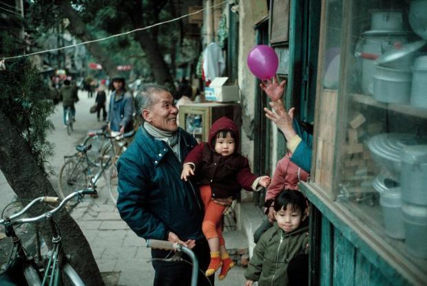 Hà Nội, Tết 1989. Ảnh: David Alan Harvey