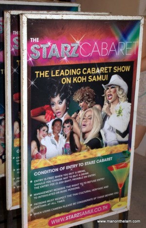 Starz Cabaret, Chaweng Beach, Koh Samui, Thailand
