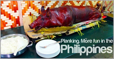 philippines department of tourism planking it's more fun in the philippines
