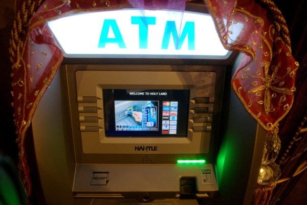 ATM at Holy Land Experience, Orlando, Florida