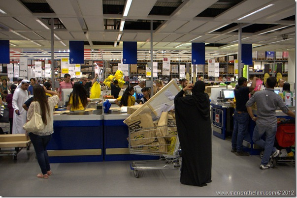 Checkout and returns, Dubai IKEA, shopping in Dubai, UAE