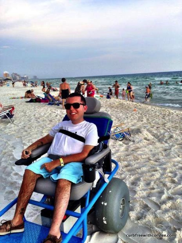 10 of the Most Wheelchair Accessible Beaches in the World  Curb Free with Cory Lee  Top 100 Travel Blog Posts of 2014 by Social Shares