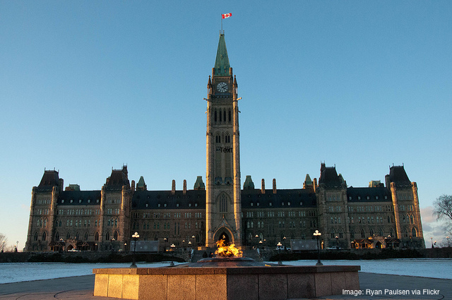 House of Parliament, Ottawa, ON CANADA