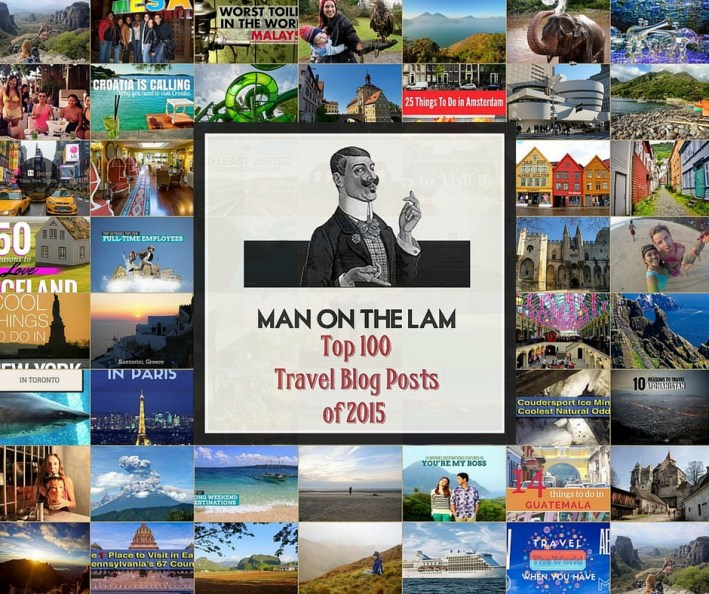 Top 100 Travel Blog Posts of 2015