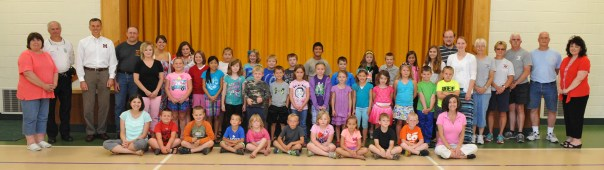 Mansfield Reading Camp students, teachers and presenters at Community Day.