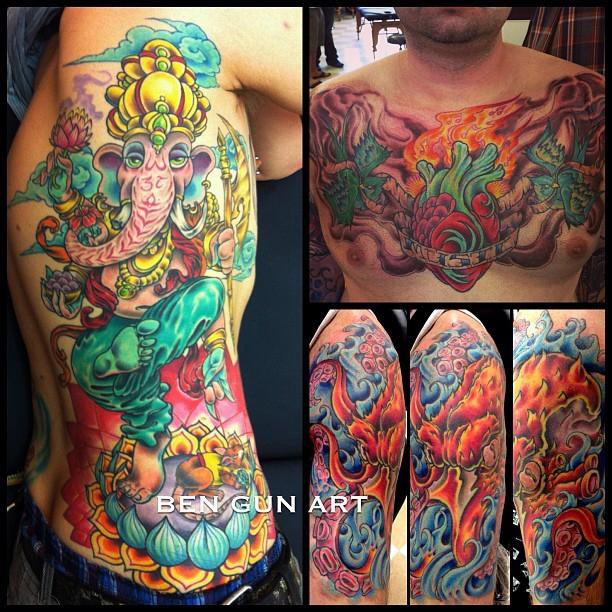 Best tattoo artists in denver best tattoo and piercing for Tattoo artist denver