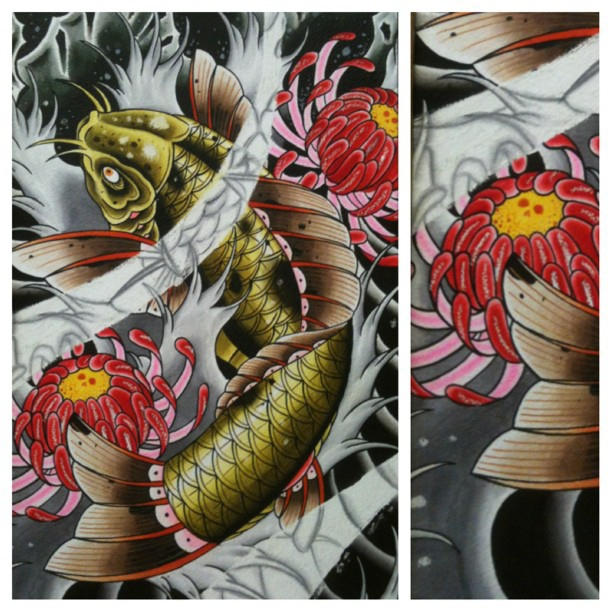 The meaningful symbolism behind a Koi fish tattoo