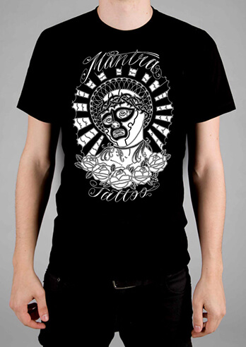 Mantra Tattoo Parker T-shirt