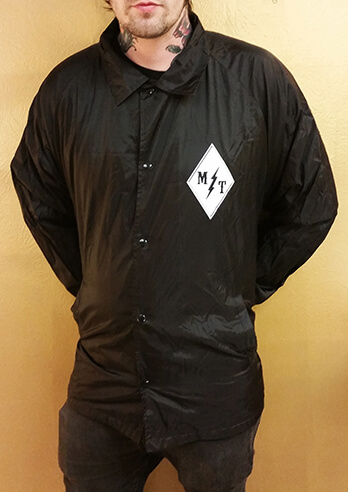 Mantra Tattoo Windbreaker