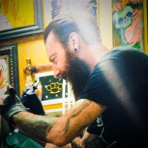Chris Yaws, tattoo artist