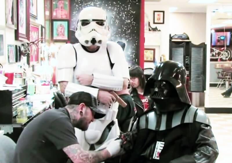 Darth Vader at Mantra Tattoo