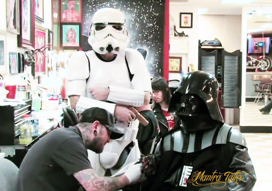 Celebrating Star Wars at Mantra Tattoo