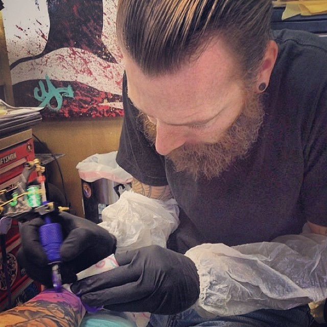 Meet Chris Yaws, a great tattoo artist