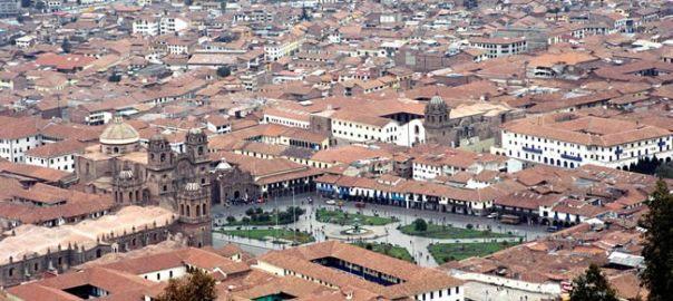 Cusco, Peru, a antiga capital do Império Inca