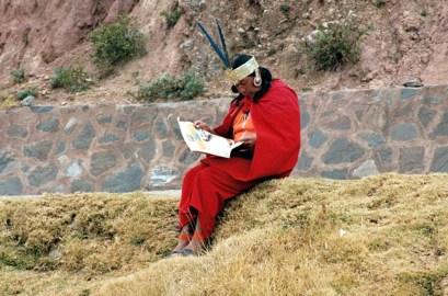 Morador do Vale Sagrado - Foto Manual do Turista