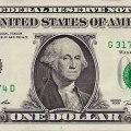 Washington na nota de um dólar