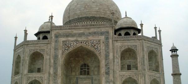 Taj Mahal, nacidade de Agra, na Índia