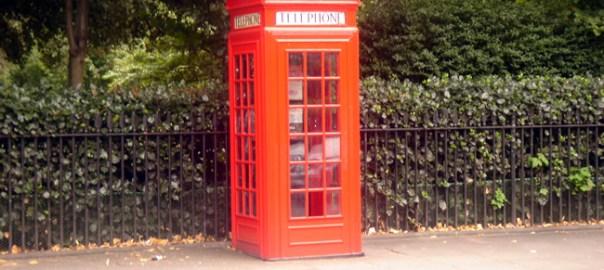 Telefone em Londres