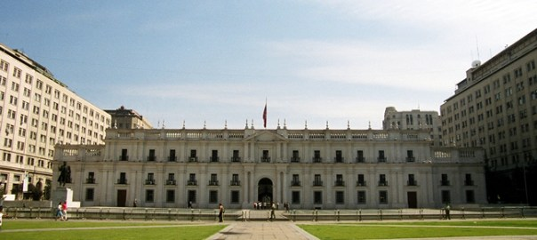 Palacio de la Moneda, (Palácio Presidencial) Santiago, Chile