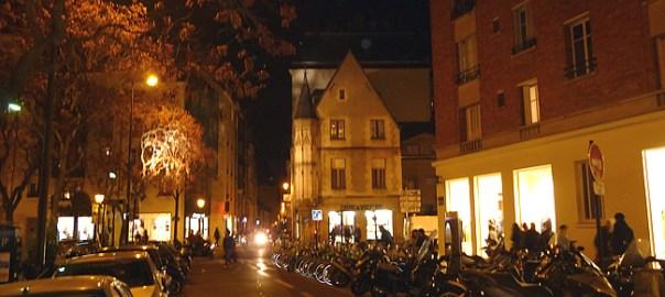 Noite Paris Marais