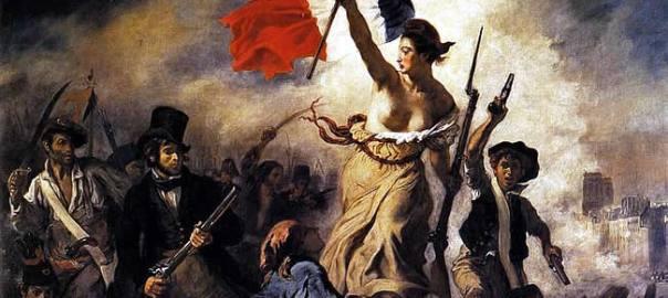 A Liberdade guiando o povo