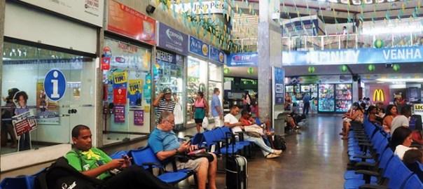 Posto da Bahiatursa da- odoviaria de Salvador