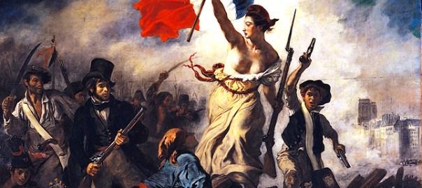 Tela de Eugène Delacroix, La liberté guidant le peuple
